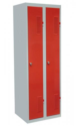 Šatní skříň kovová A1008