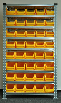 Regál s plastovými boxy 877851017 (7 modelů)